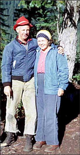 Don and Mabel Barrie at Fisher Lake